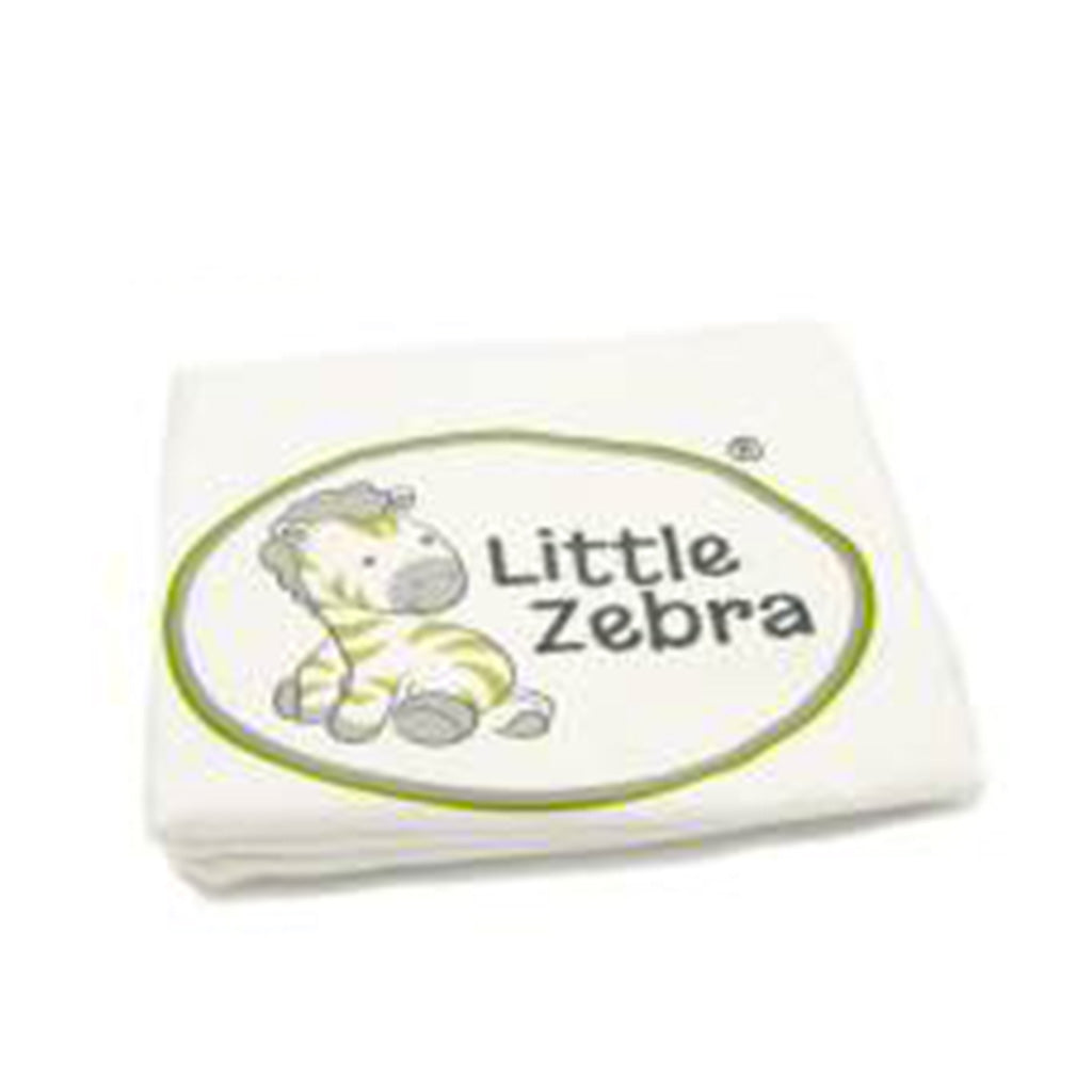 Little Zebra Toddler Pillow Case Cream