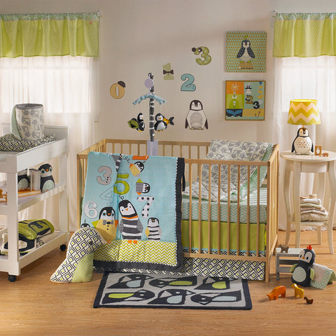 Living Textiles Phinley 4 Piece Crib Set