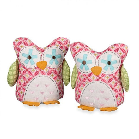 Living Textiles Poppy Seed Bookends Owl