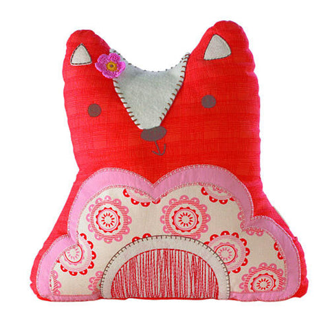 Living Textiles Scarlet Character Pillow Fox