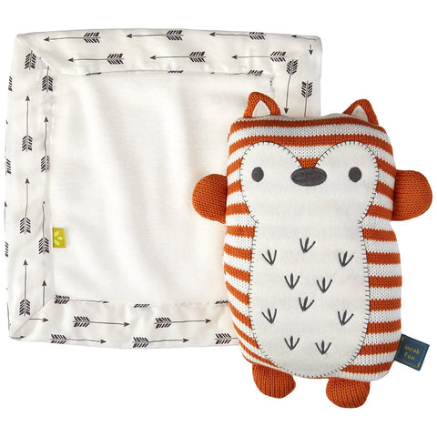 Living Textiles Softie Plush and Blankie Fox