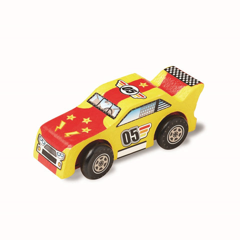 Melissa & Doug Created by Me! Race Car Wooden Craft Kit 4 years+