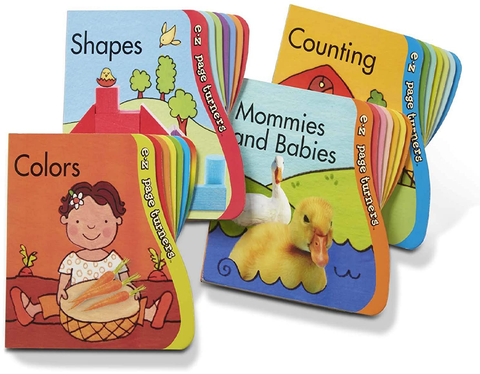 Melissa & Doug EZ Page Turner Book Bundle