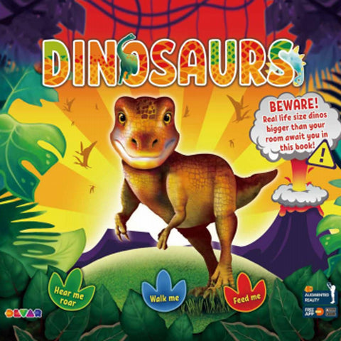 Melissa Josh Augmented Reality Dinosaur Book