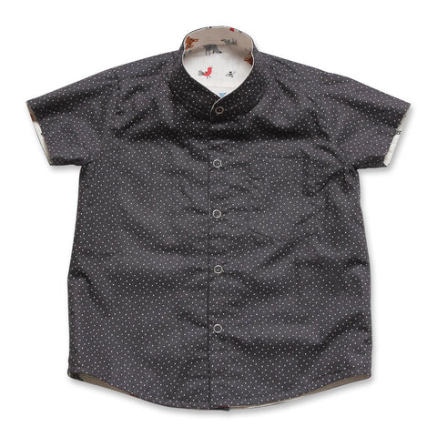 MAISON Q Parisien Reversible Shirt