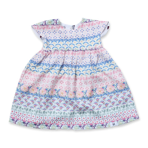 MAISON Q Floret Babydoll Reversible Dress