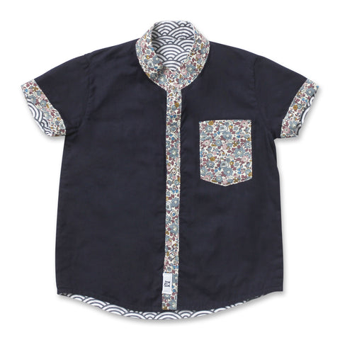 MOTHERSWORK X MAISON Q  Philip Reversible Shirt