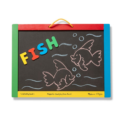 Melissa & Doug Magnetic Chalkboard and Dry-Erase Board 3 years+