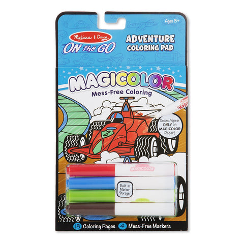 Melissa & Doug On the Go Magicolor Coloring Pad - Games & Adventure