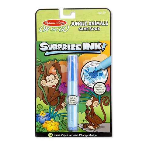 Melissa & Doug ON the Go Surprize Ink! Travel Activity Book - Jungle