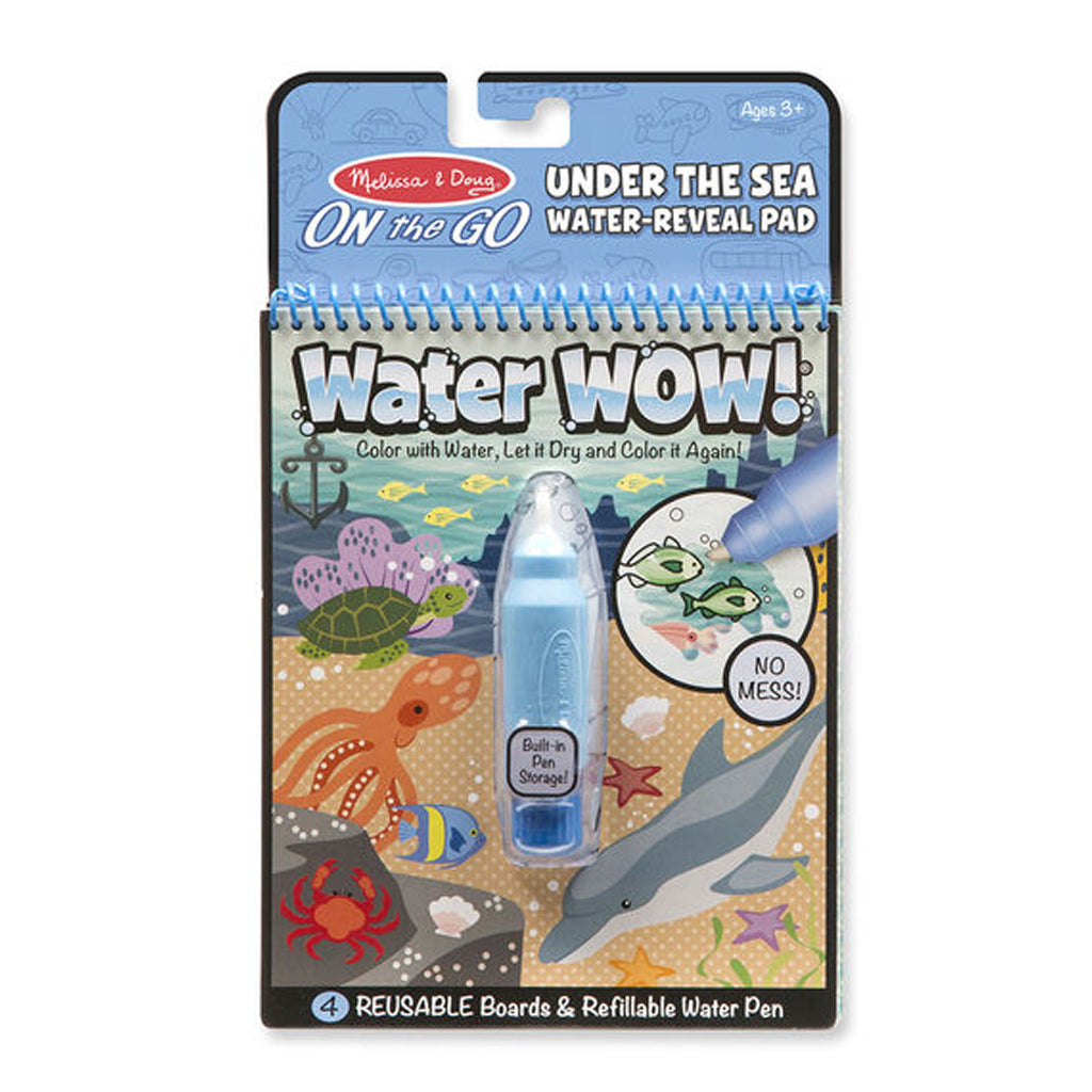 Melissa & Doug ON the Go Water Wow! Travel Activity Pad - Under the Sea Water Reveal Pad