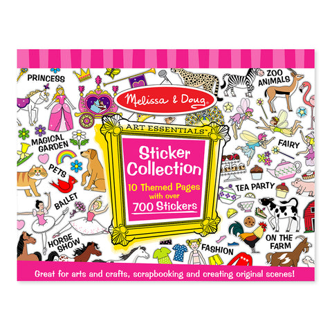 Melissa & Doug Sticker Collection Book - Pink