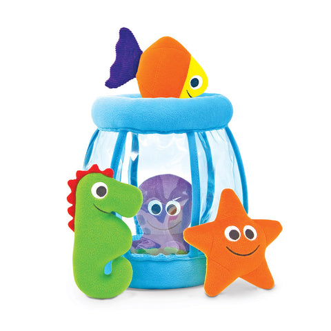 Melissa & Doug Fishbowl Fill and Spill Toddler Toy