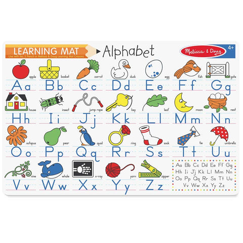 Melissa & Doug Alphabet Learning Placemat
