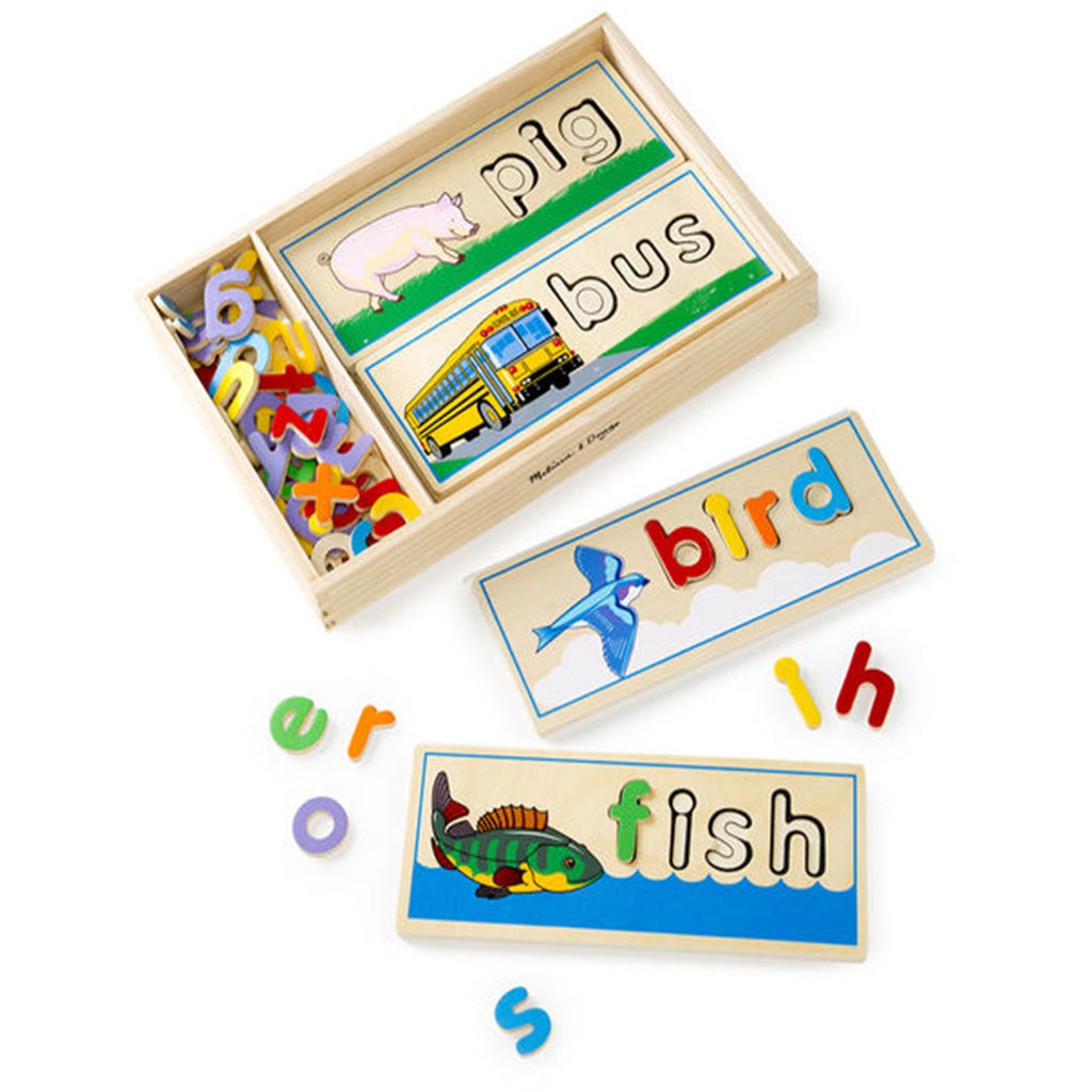 Melissa & Doug See & Spell Learning Toy