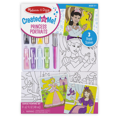 Melissa & Doug Canvas Painting Set Princess