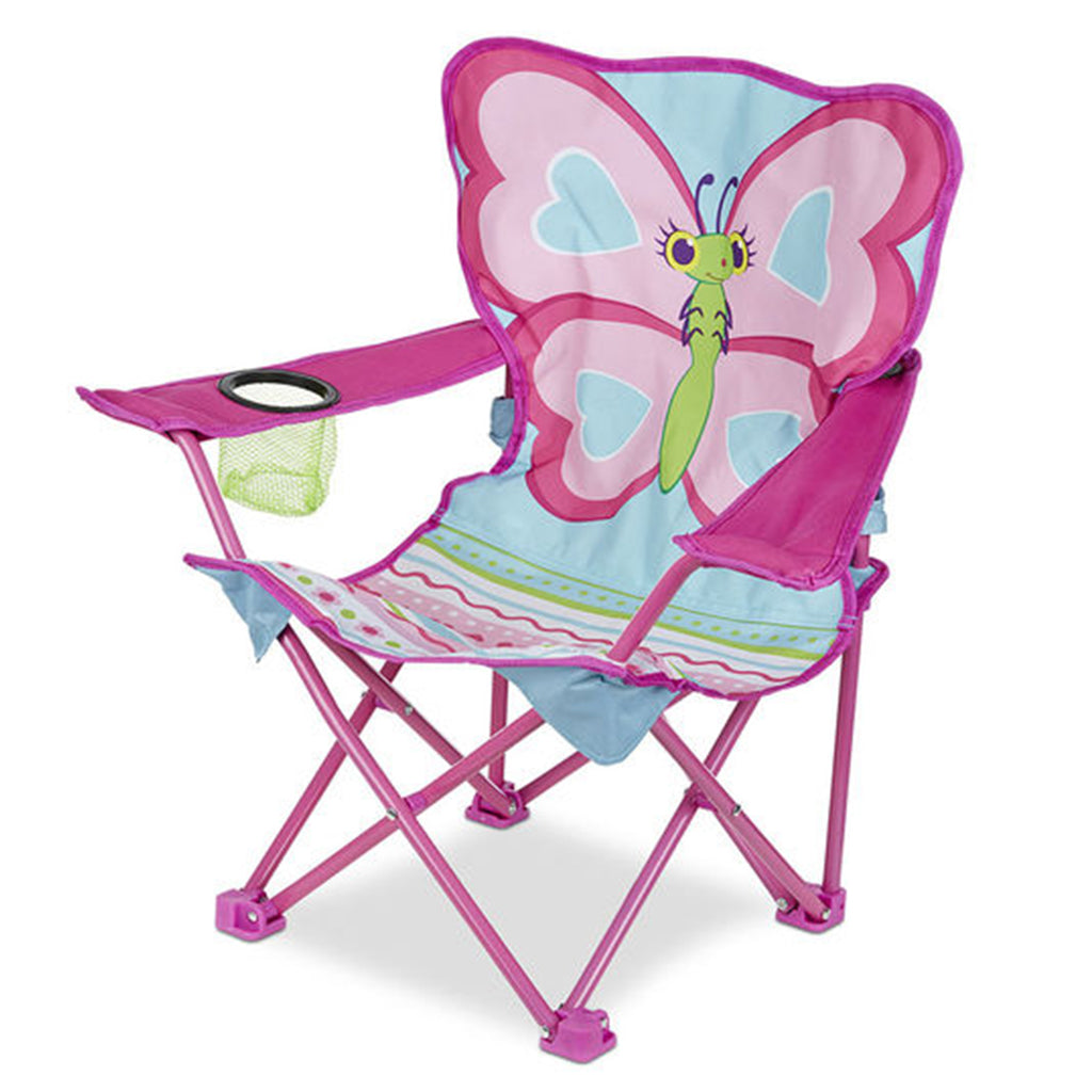 Melissa & Doug Cutie Pie Butterfly Child Camp Chair
