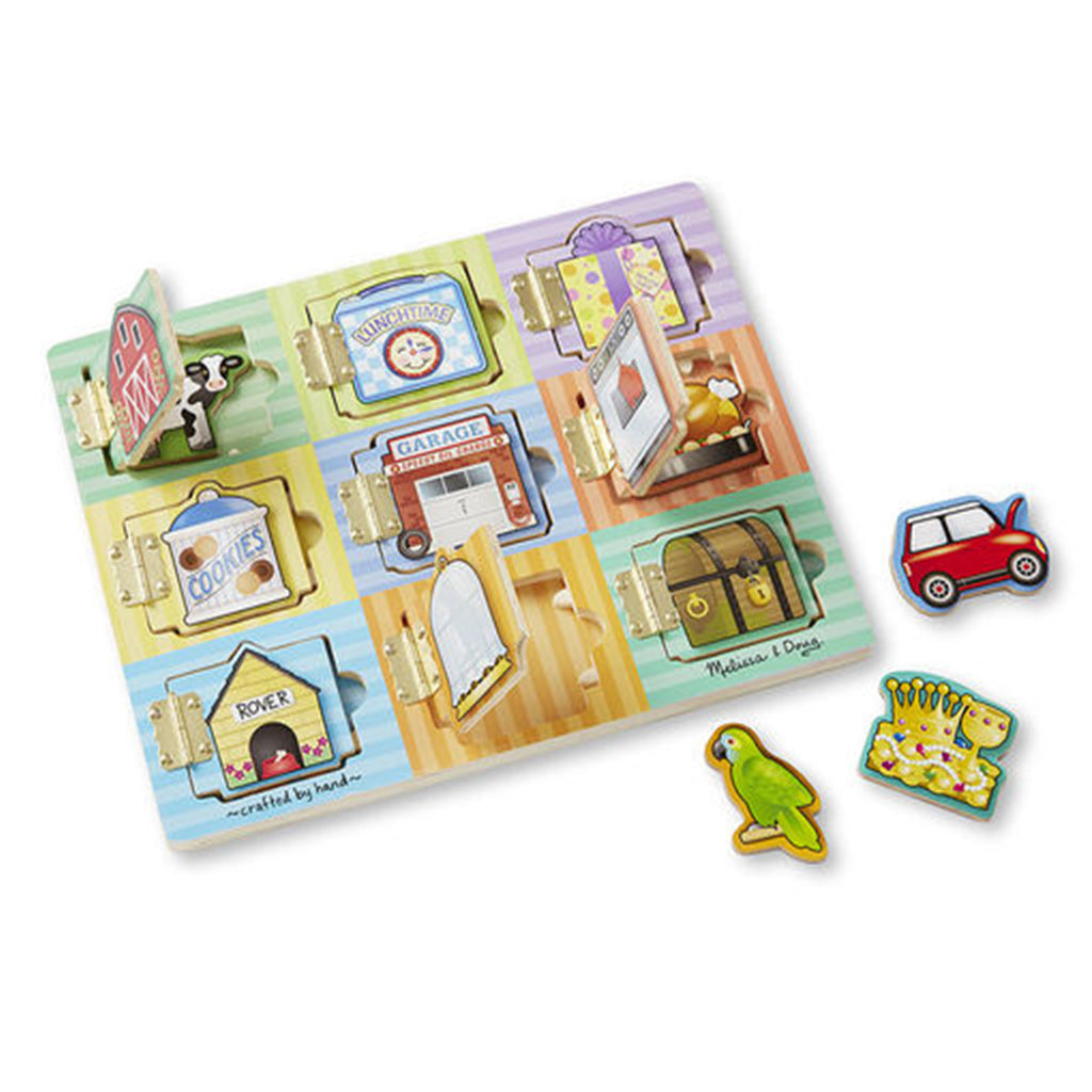 Melissa & Doug Magnetic Hide & Seek Board