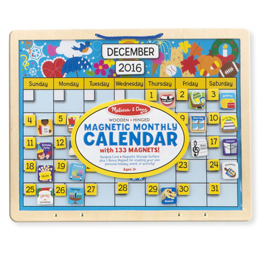 Melissa & Doug Magnetic Monthly Calendar