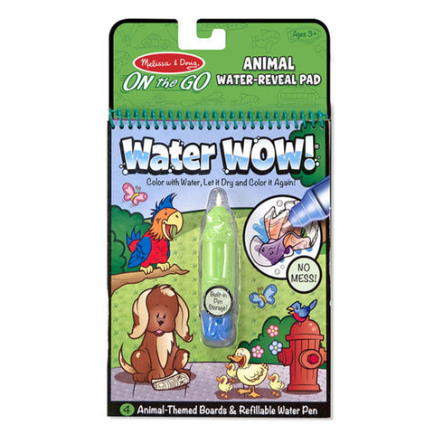 Melissa & Doug ON the GO Water Wow Animals