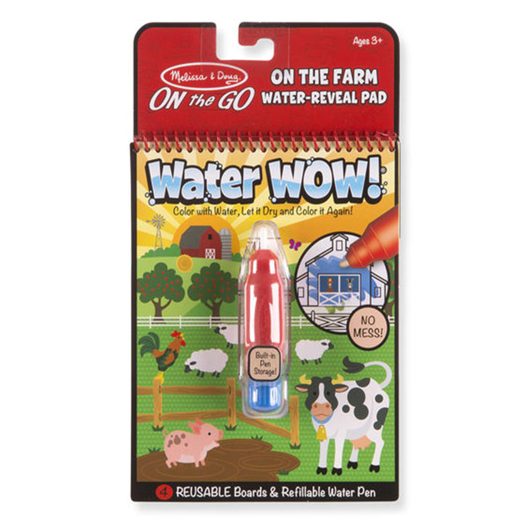 Melissa & Doug ON the Go Water Wow! Travel Activity - Farm
