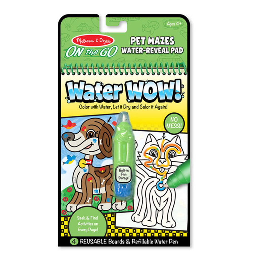 Melissa & Doug ON the GO Water Wow Pet Mazes