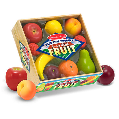 Melissa & Doug Play Food - Play Time Produce Fruit