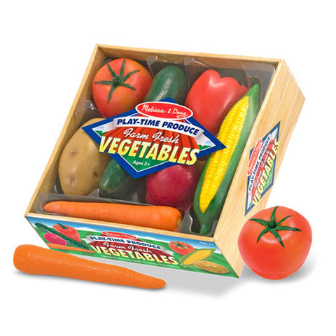 Melissa & Doug Play Food - Play Time Produce Vegetables