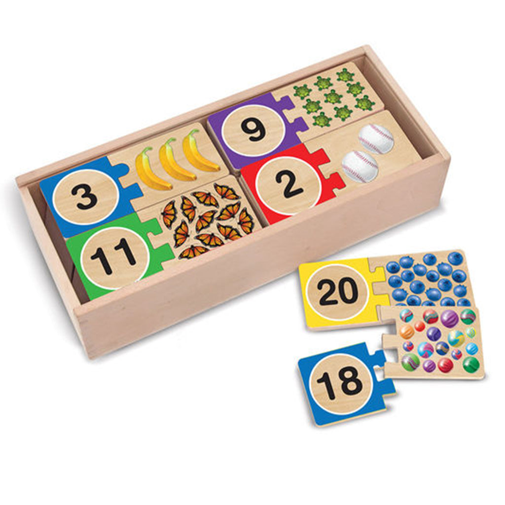 Melissa & Doug Self-Correcting Puzzles - Numbers