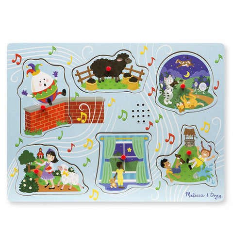 Melissa & Doug Sound Puzzle - Sing-Along Nursery Rhymes
