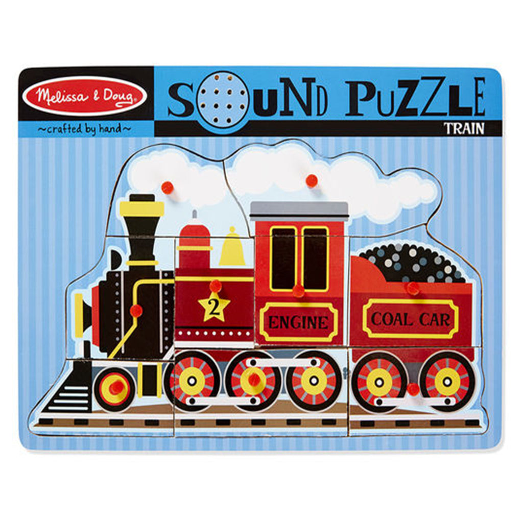 Melissa & Doug Sound Puzzle 9pcs - Train
