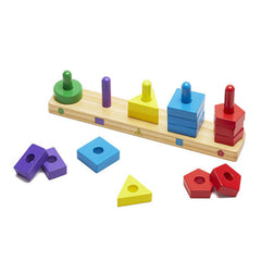 Melissa & Doug Sorting & Stacking Board