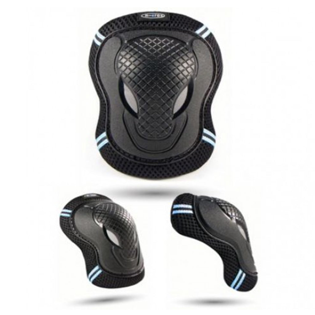Micro Scooter Black Elbow and Knee Pads Large