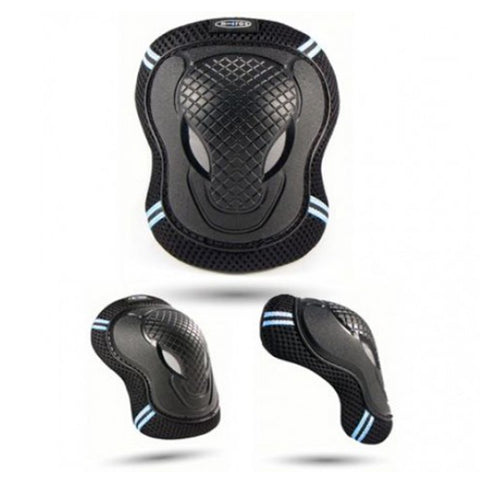 Micro Black Elbow and Knee Pads Large
