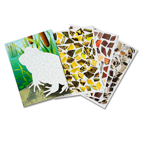 Melissa & Doug Mosaic Sticker Pad - Nature 7 Years+