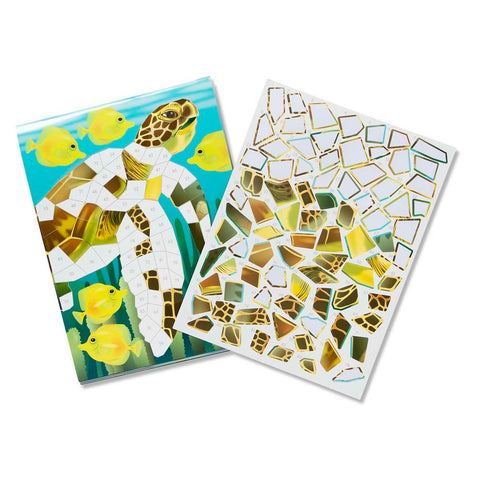 Melissa & Doug Mosaic Sticker Pad - Ocean 7 years+