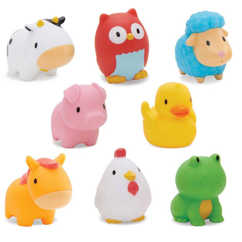 Munchkin Squirtin Barnyard Friends - 8 Pieces