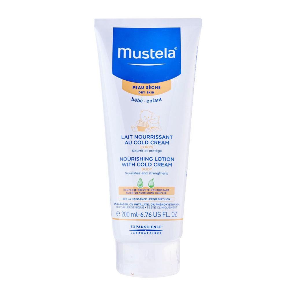 Mustela Nourishing Lotion With Cold Cream (Body) 200ml