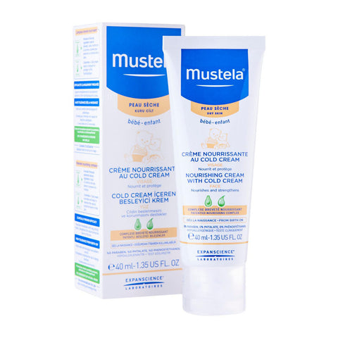 Mustela Nourishing Cream With Cold Cream (Face) 40ml