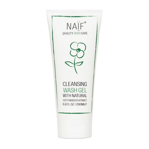 Naif Cleansing Wash Gel - 200ml