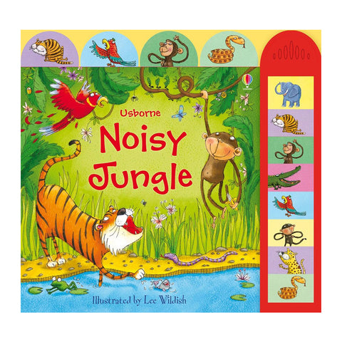 Usborne - Noisy Jungle Book