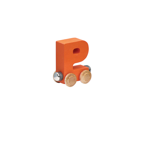 Maple Landmark Magnetic NameTrain - Letter P