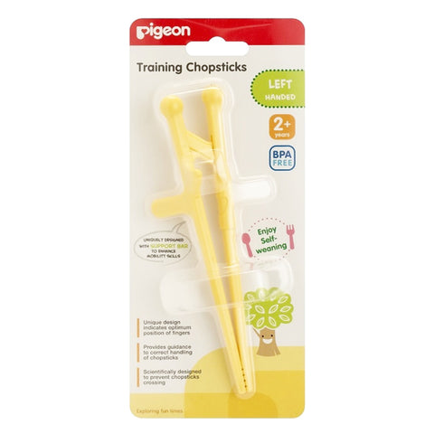 Pigeon Training Chopsticks Left Hand - Yellow