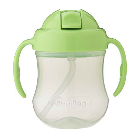 Pigeon Mag Mag Straw Cup - Green