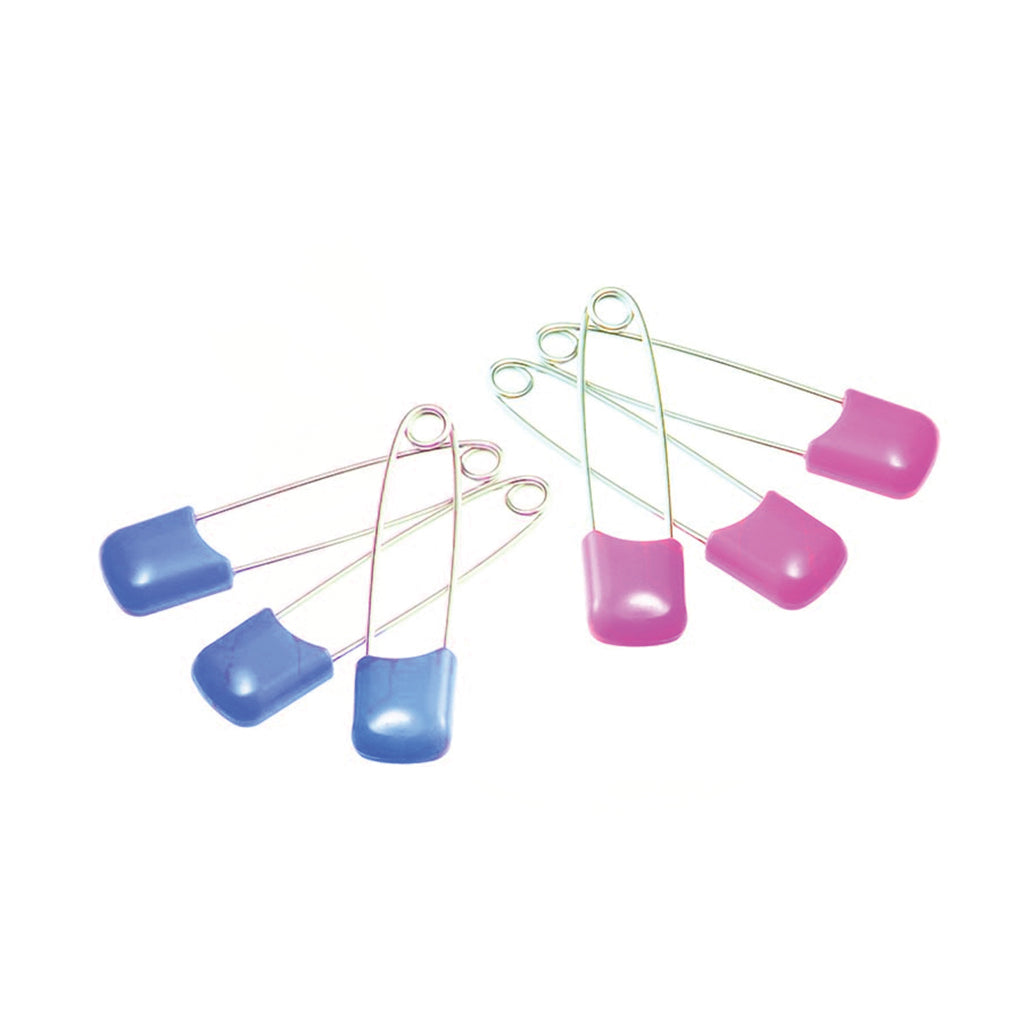 Pigeon Safety Pins - 6 pins per pack