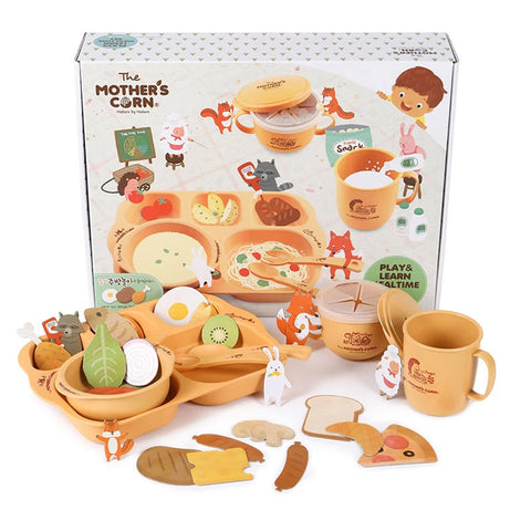 Mother's Corn Play & Learn Meal Time Set