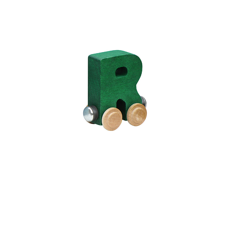 Maple Landmark Magnetic NameTrain - Letter R
