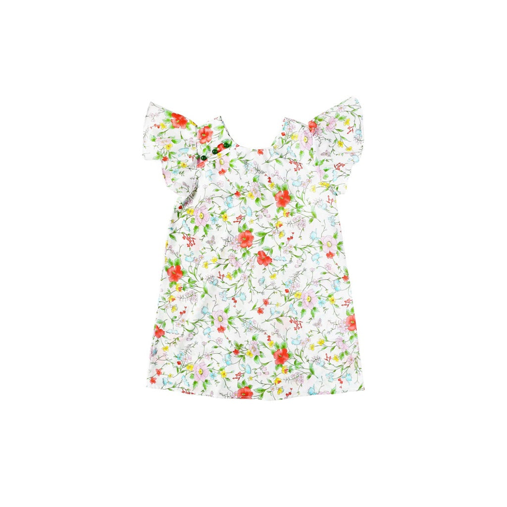 Sea Apple Day By Day Flutter Cheongsam