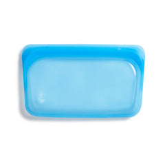 Stasher Reusable Silicone Bag, Topaz, Snack Bag Size Small (290ml)