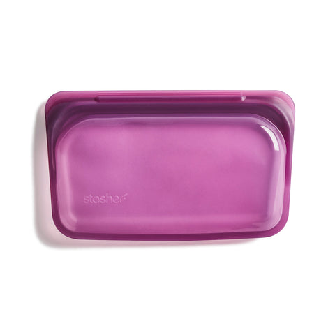 Stasher Reusable Silicone Bag, Dusk, Snack Bag Size Small (290ml)